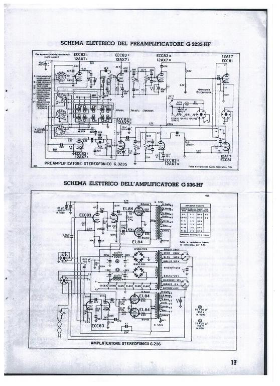FORUM - Stereo Vollverstärker Geloso G236HF und VV G3235HF