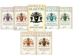George R. R. Martin – Buz ve Ateşin Şarkısı Serisi (PDF)