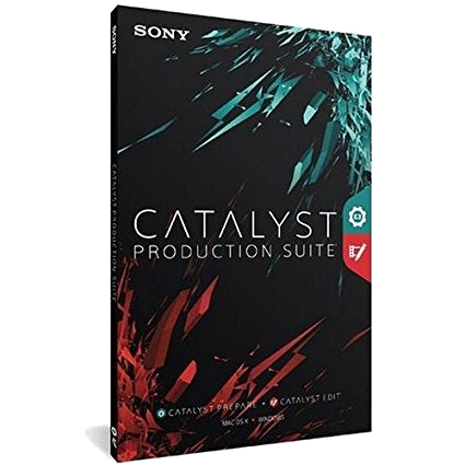 Sony Catalyst Production Suite 2018.2