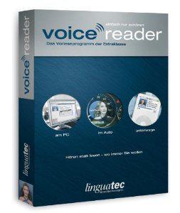 : Linguatec Voice Reader Studio 2008