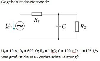 Widerstand Parallel Berechnen : kondensator und ohmscher widerstand parallel ~ Themetempest.com Abrechnung