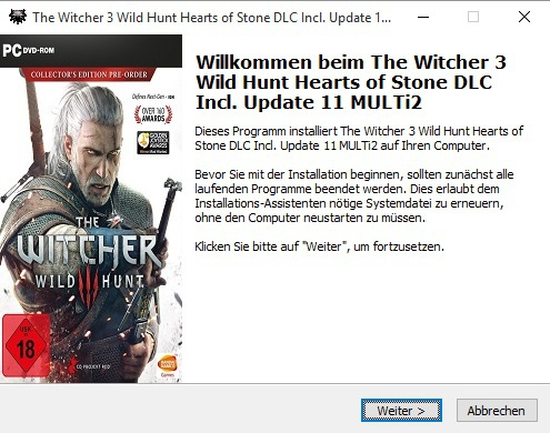 The Witcher 3 Wild Hunt Hearts of Stone DLC Incl Update 11