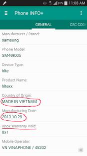 Phone INFO+ ★Samsung★ (FULL) v3.4.3 .apk Gho9k
