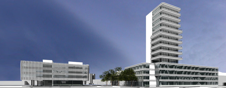 hochhauswelten ingolstadt pdi wohntower 50m. Black Bedroom Furniture Sets. Home Design Ideas