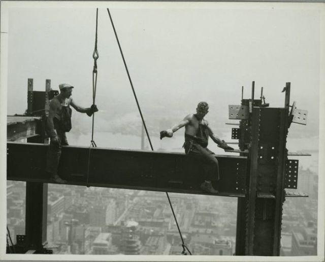 Budowa Empire State Building 1