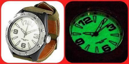 Γνήσιο Semptec αδιάβροχο ρολόι φωσφορικό ! Δείτε το