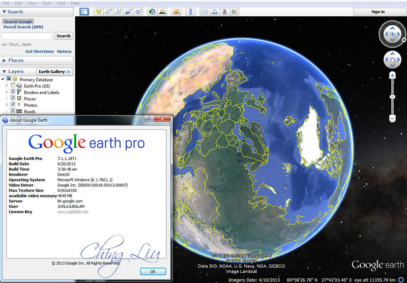 Google earth pro keygen patch exe