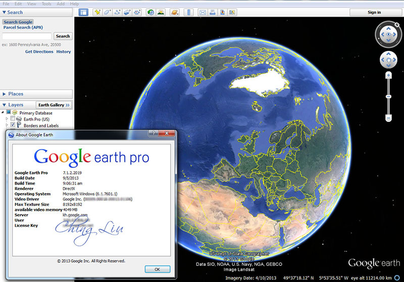 Download Google Earth PRO 7.1.2.2019 Final (Patch-MPT)