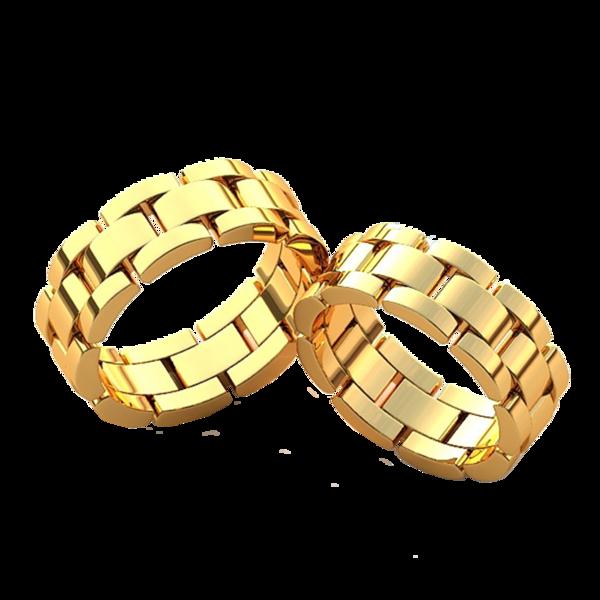 Как сделать кольцо из белого и желтого золота