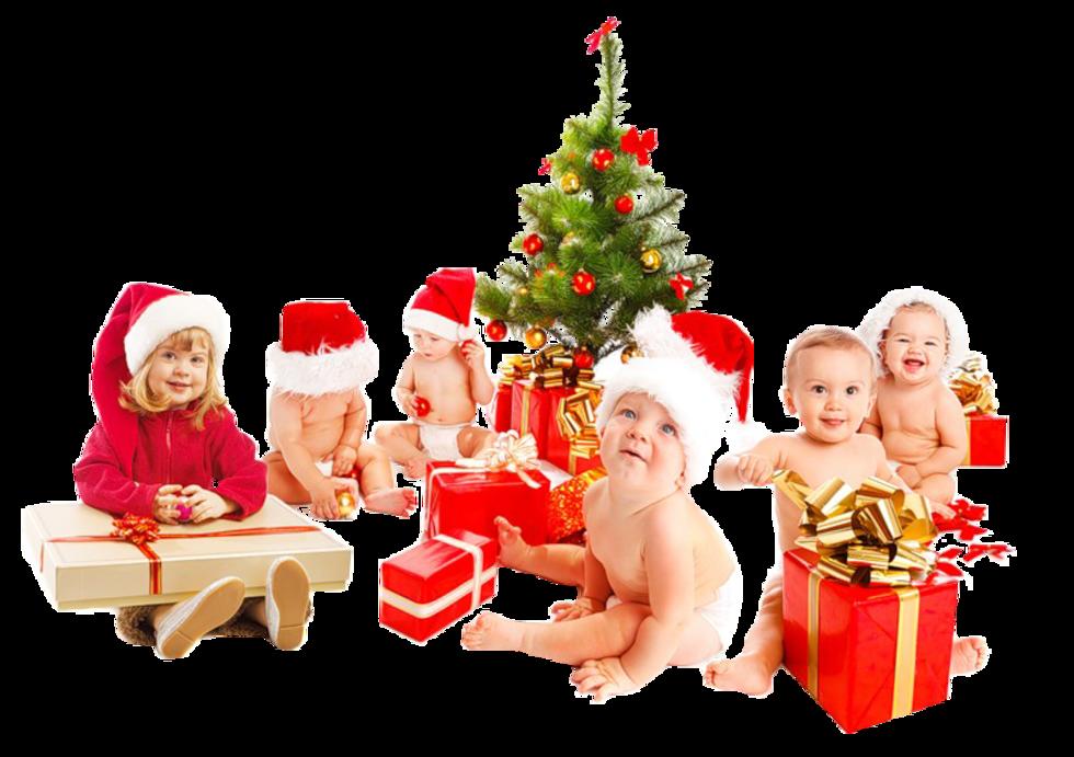Категории детей для получения новогодних подарков