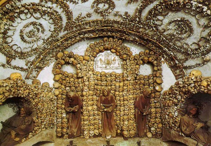 Kaplica czaszek Braci Kapucynów 12