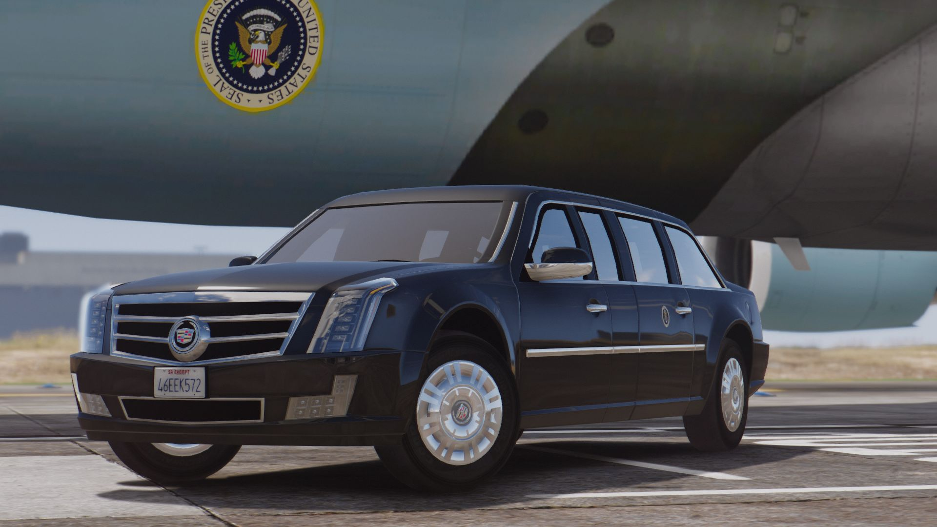 VEHICLE]2017 Presidential State Car (Cadillac One a.k.a. The Beast ...