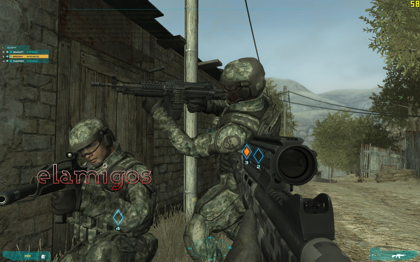 how to change language in ghost recon advanced warfighter 1