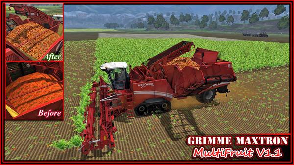 Grimme Maxtron 620 MultiFruit V2.0