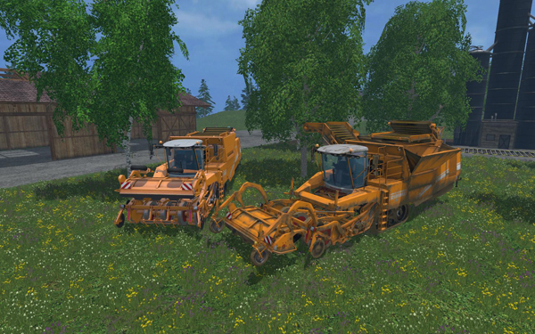Grimme Tectron 415 yellow Edition 1.0
