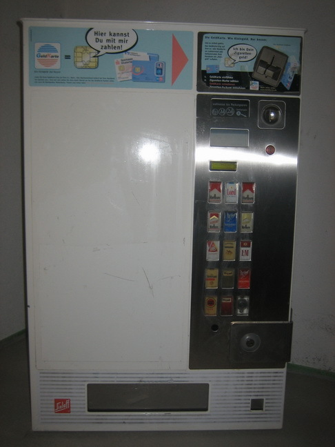 wie funktioniert zigarettenautomat