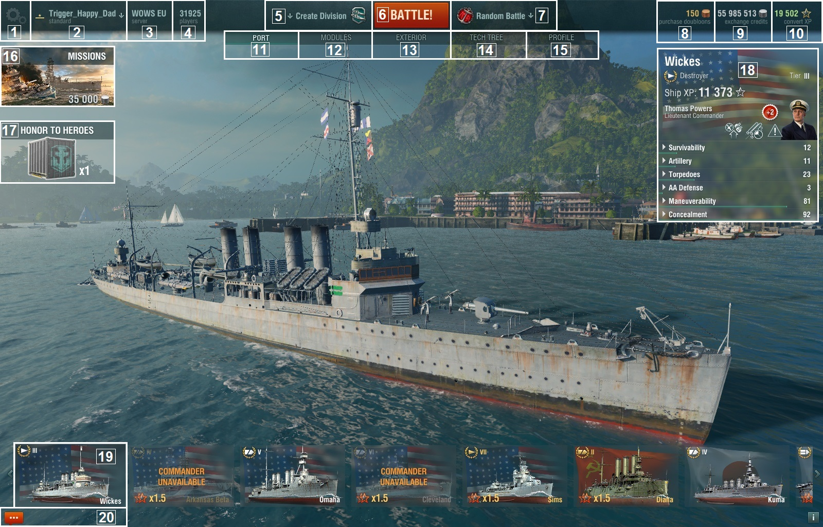 World of warships free slots parx poker twitter