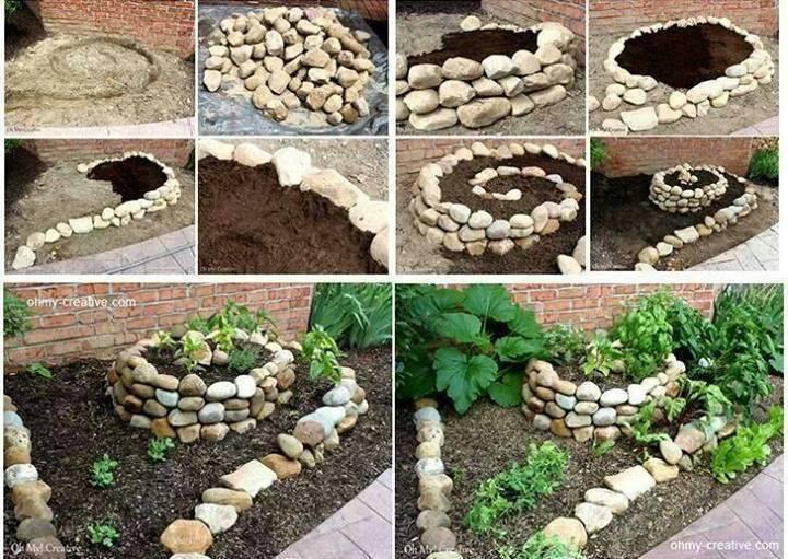 пошаговая инструкция изготовления камней-валунов для сада