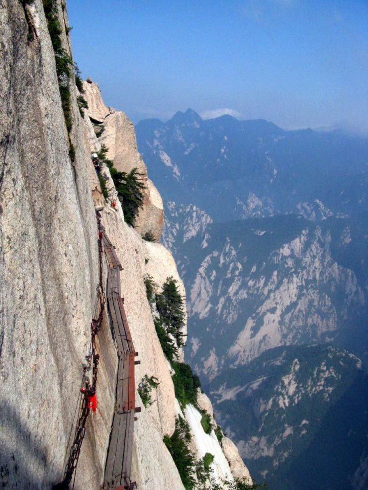 Droga na szczyt góry Hua Shan 5