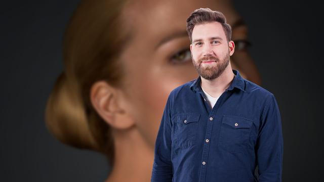 Video2Brain - High-End-Retusche mit Photoshop Beauty-Porträt