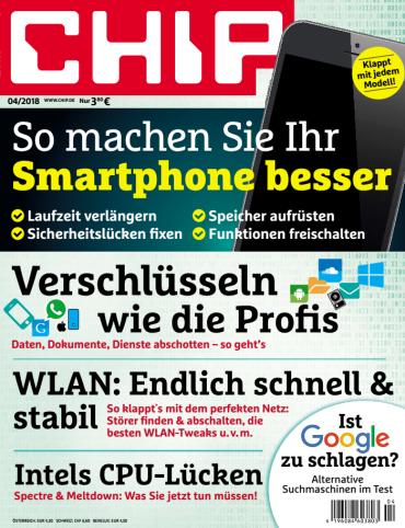 Chip Magazin April No 04 2018