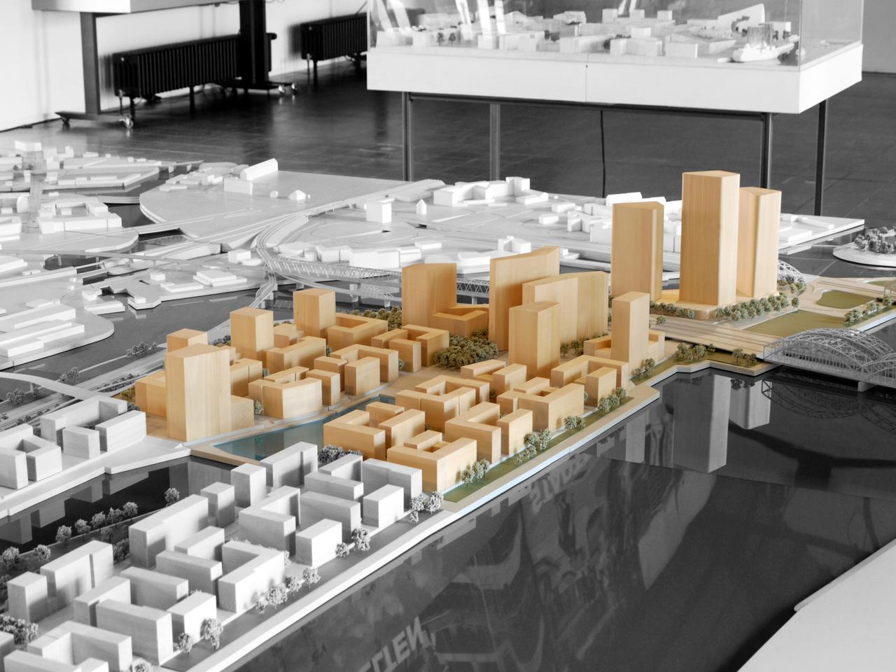 Hamburg Hafencity Quartier Elbbr 252 Cken In Bau