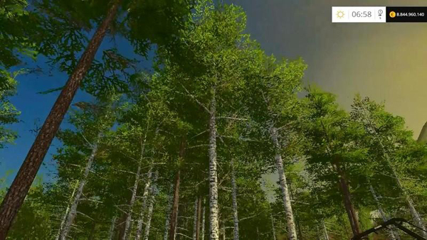 Harvester Birch trees v1.0