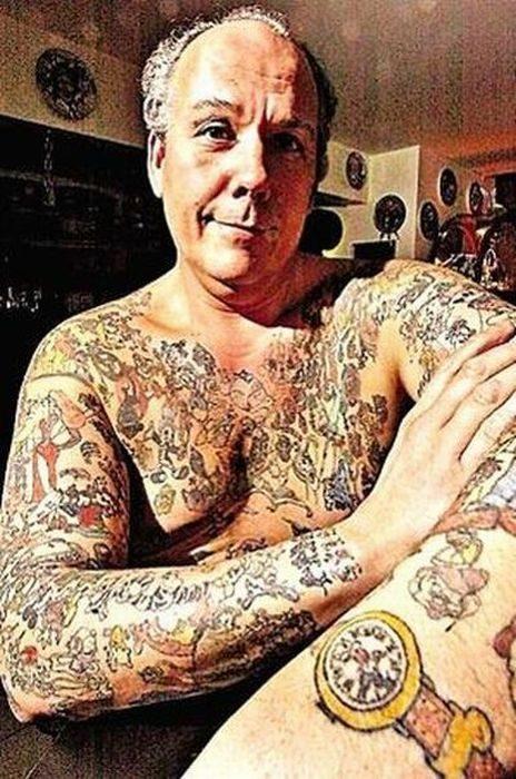 Starość z tatuażem 16