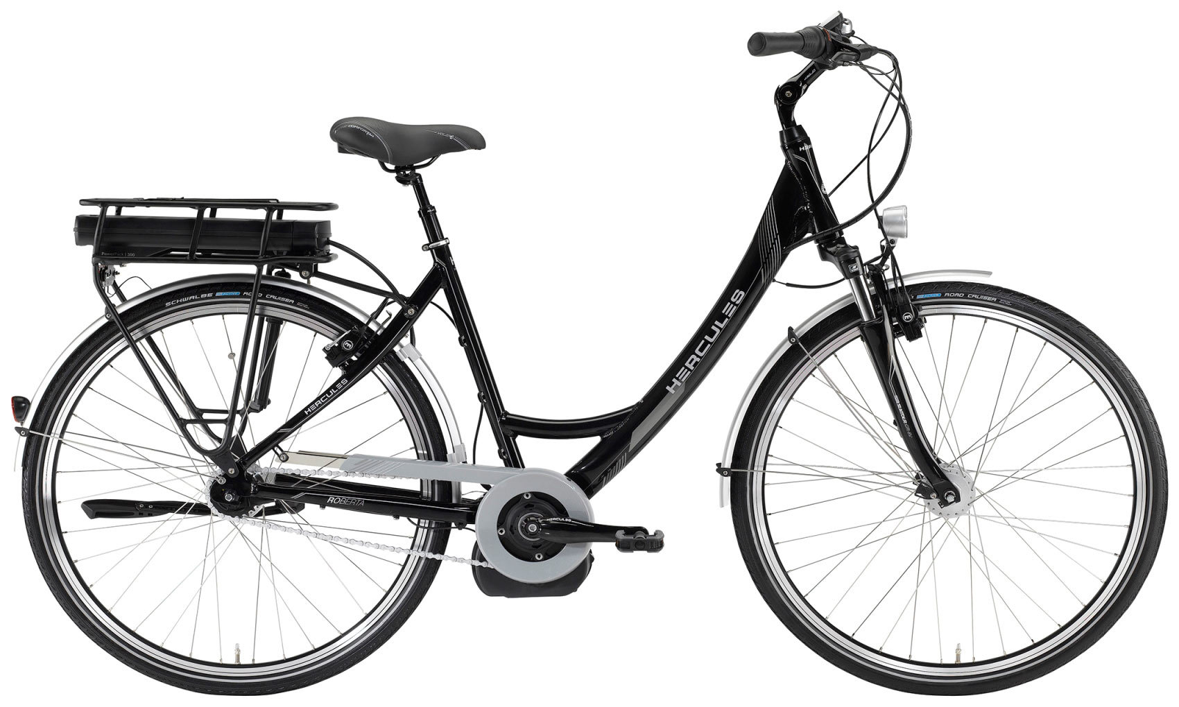 elektro fahrrad hercules roberta 7 e bike bosch shimano 7g. Black Bedroom Furniture Sets. Home Design Ideas