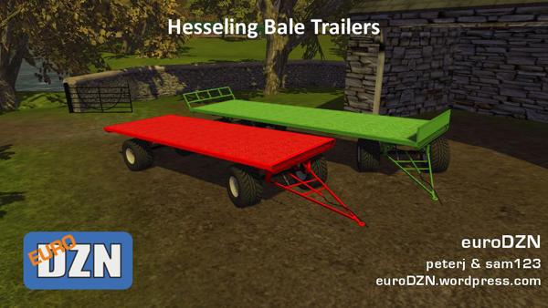 Hesseling Bale Trailers