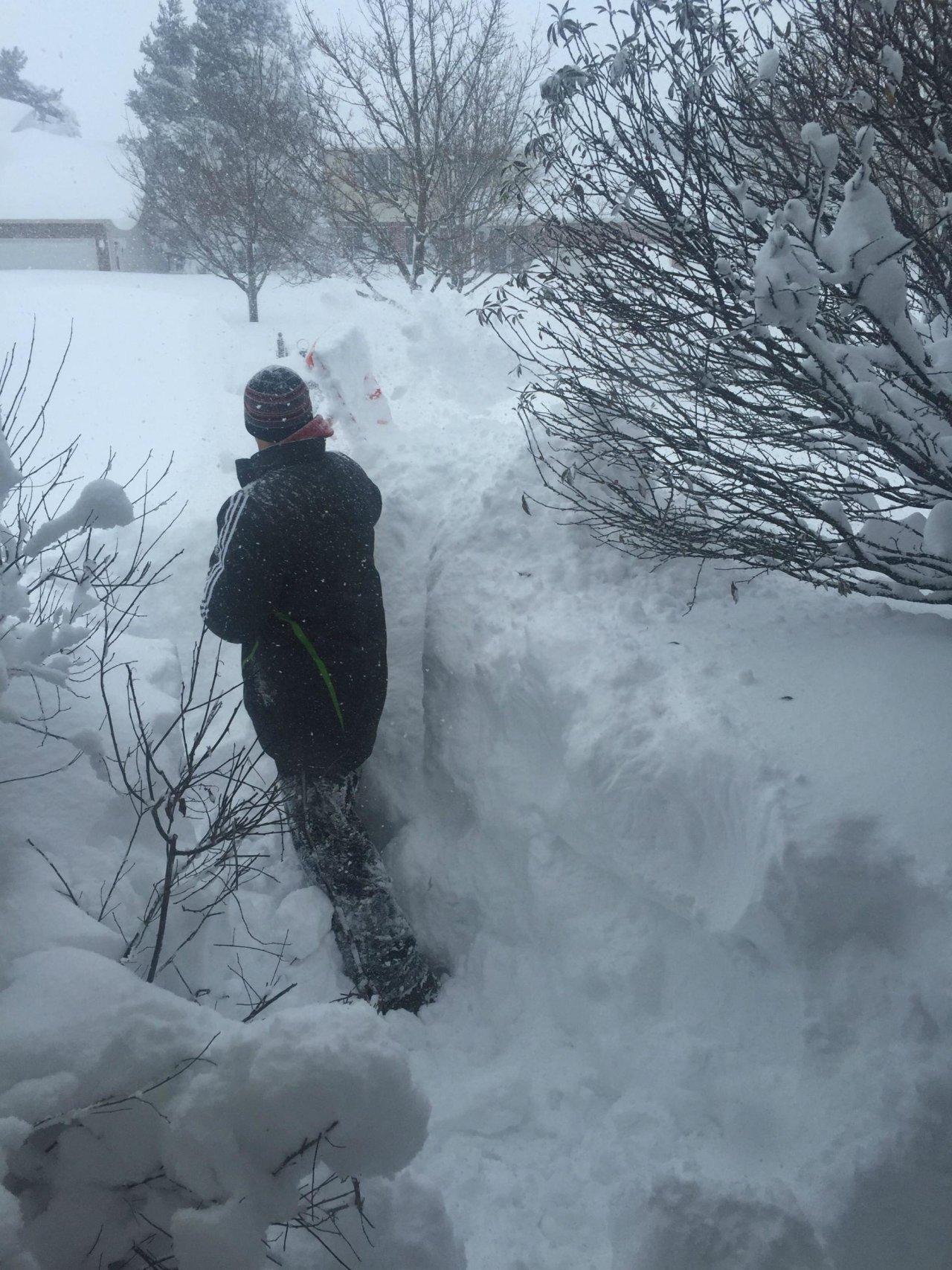 Śnieżyce w USA 58