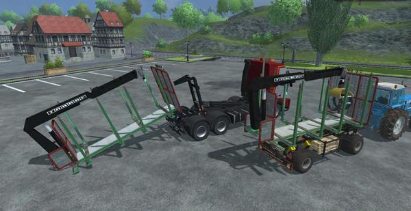 HKL timber v2.0 Kran
