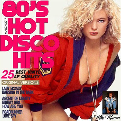 80's Hot Disco Hits By Mike Mareen (2017) .mp3 - 320 Kbps