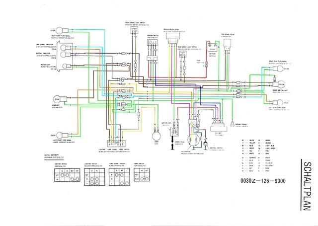 Berühmt Honda Motor Schaltplan Bilder - Die Besten Elektrischen ...