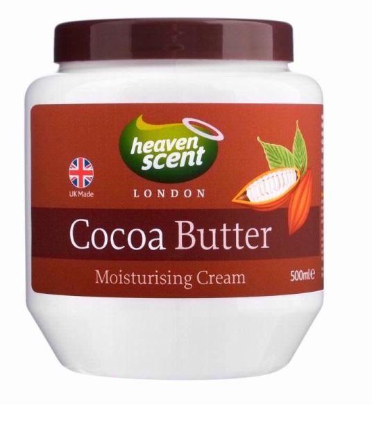 2x hs cocoa butter moisturising cream body cream england 500ml ebay. Black Bedroom Furniture Sets. Home Design Ideas