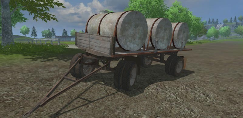 HW Milk Water Trailer v 2.0