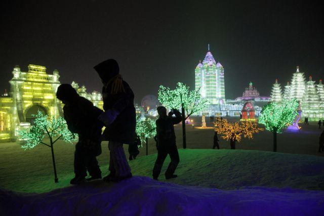 Festiwal rzeźby w śniegu i lodzie 13