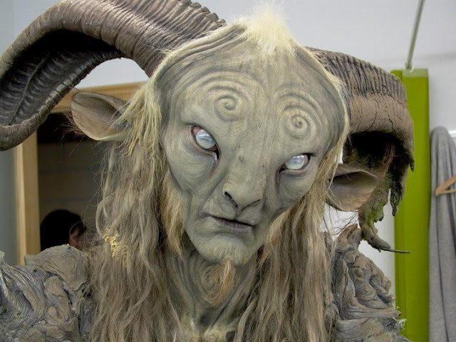 Charakteryzacja z filmu Labirynt Fauna 26