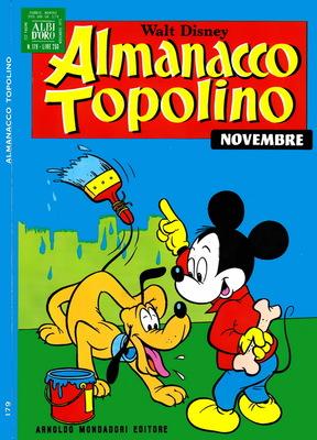 Almanacco Topolino 179 - Novembre 1971