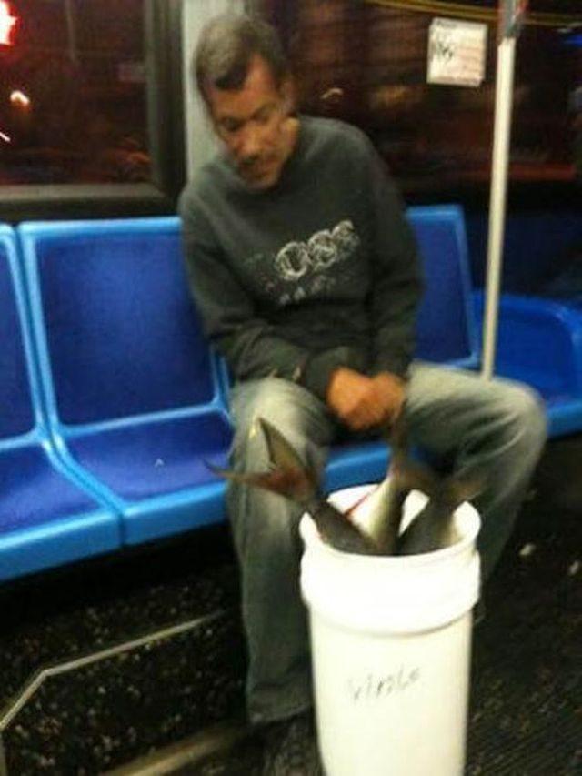 Najdziwniejsi ludzie w metrze 10