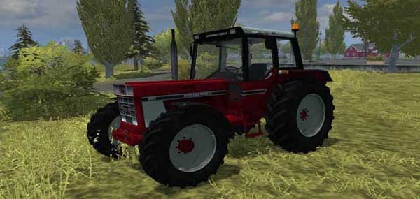 IHC 955A with Aigner Fronthydraulik v 1.0