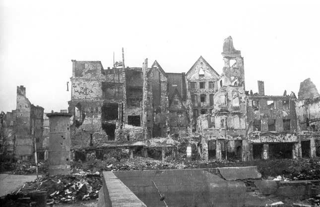 Wrocław  1945 Zniszczenia 99