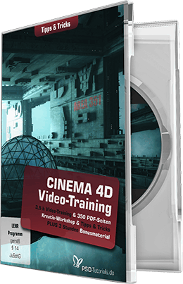 Psd Tutorials Cinema 4D Video Training Tipps und Tricks