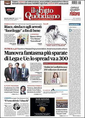Il Fatto Quotidiano - 3 Ottobre 2018 [Opt.]