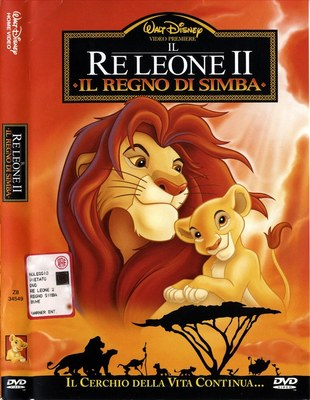 Il re leone 2 - Il regno di Simba (1998).Dvd9 Copia 1:1 - ITA Multi