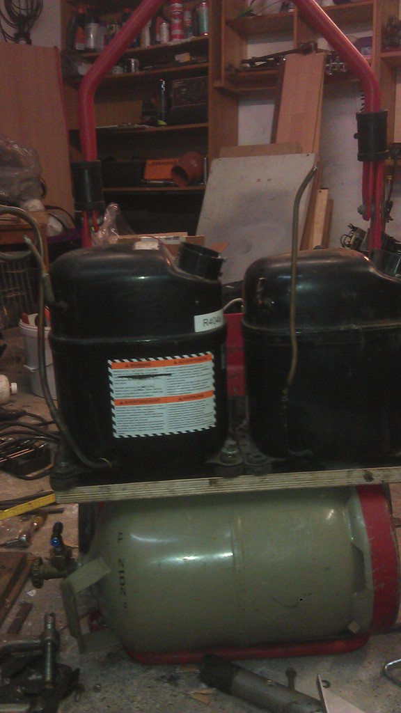druck kompressor kühlschrank