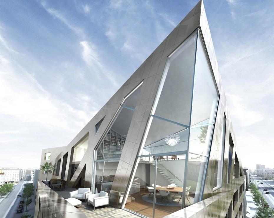 Projekte rund um das bnd areal seite 11 deutsches - Dekonstruktivismus architektur ...