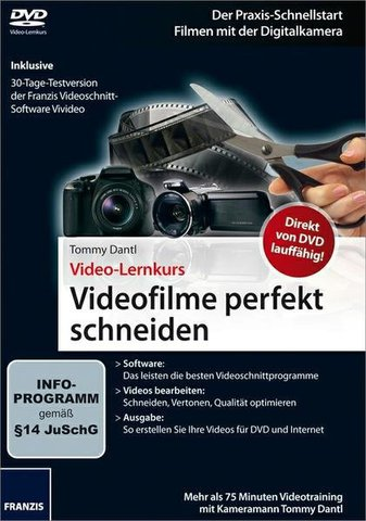 Franzis Video-Lernkurs Videofilme perfekt schneiden