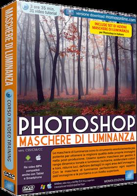 Grafica Digital Foto n.90 Video Corso Photoshop Maschere di Luminanza - ITA