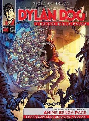 Dylan Dog i colori della paura 45 - Anime senza Pace (2016)